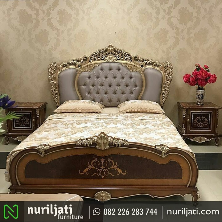 Gambar Set Tempat Tidur Ukir Mewah Cholilah