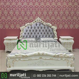 Set Tempat Tidur Ukir Mewah Kirana