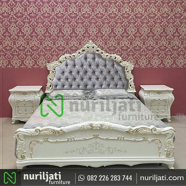 Gambar Set Tempat Tidur Ukir Mewah Kirana