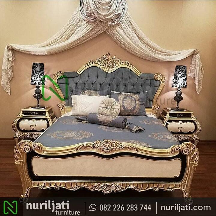 Gambar Set Tempat Tidur Ukir Mewah Tersanjung