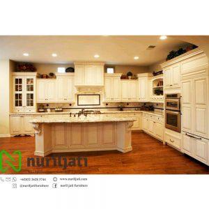 Kitchen Set Dapur Duco Putih Mewah