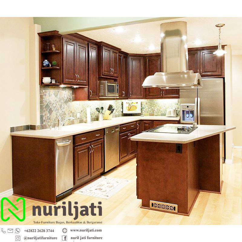 Kitchen Set Dapur Minimalis Style Jati Jepara