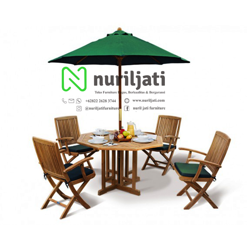 Set Meja Payung Taman Nuril Jati Garden