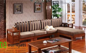 Model Sofa Tamu Sudut Minimalis Jepara