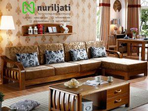 Sofa Tamu Sudut Model Minimalis Jepara