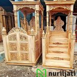 Model Mimbar Masjid Ukir Jepara Terbaru