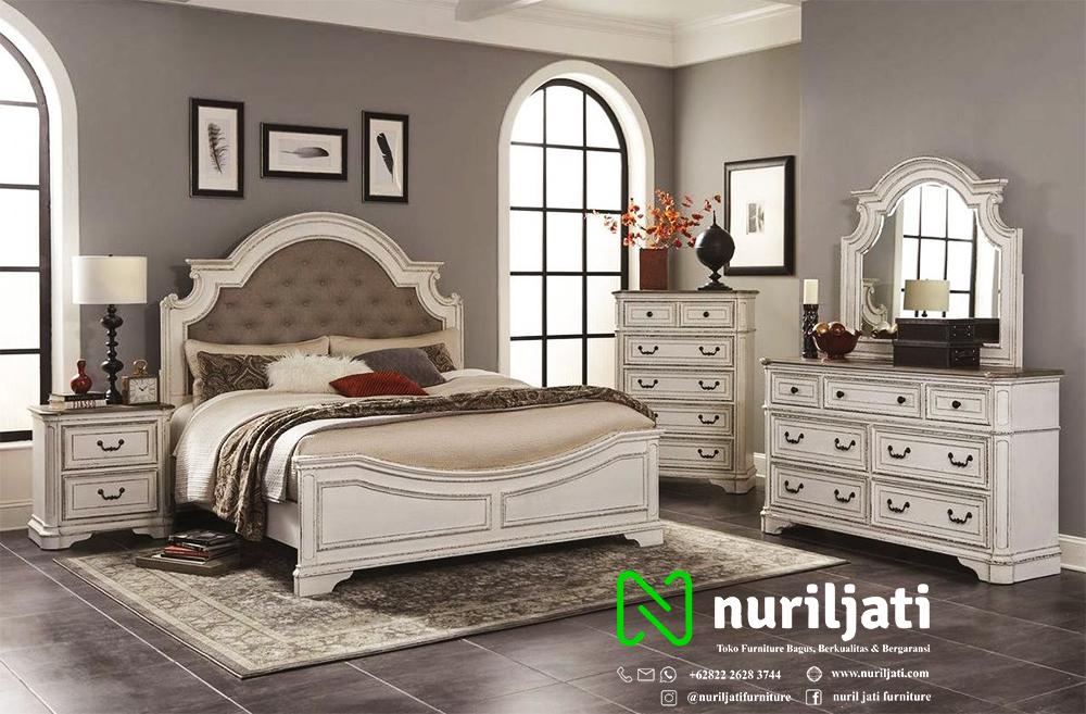 Jual Set Ranjang Tidur Klasik Model Minimalis