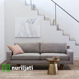 Kursi Sofa Model Minimalis Warna Putih