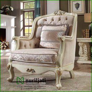 Detail Set Sofa Ukir Jati Jepara Bludru Mewah 01